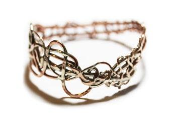 Recycled Copper Bracelet Handmade