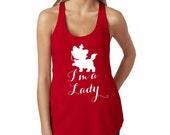 I'm a Lady, Marie from Aristocats // Aristocats Tank // Disney Shirt // Marie Cat Tank Top // Disney Adult T-Shirt // Disney Cat Shirt