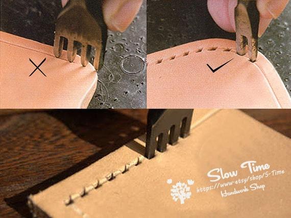 4mm Diamond Leather Stitching Prong Chisel Set 1 2 4 6