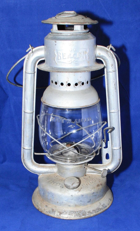 Antique GSW Beacon Oil Lantern Kerosene Lamp by RobsHobbies