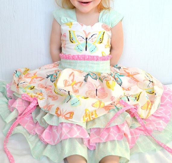 Little Girls Dress Baby Girl Dresses Fancy Girls Dress