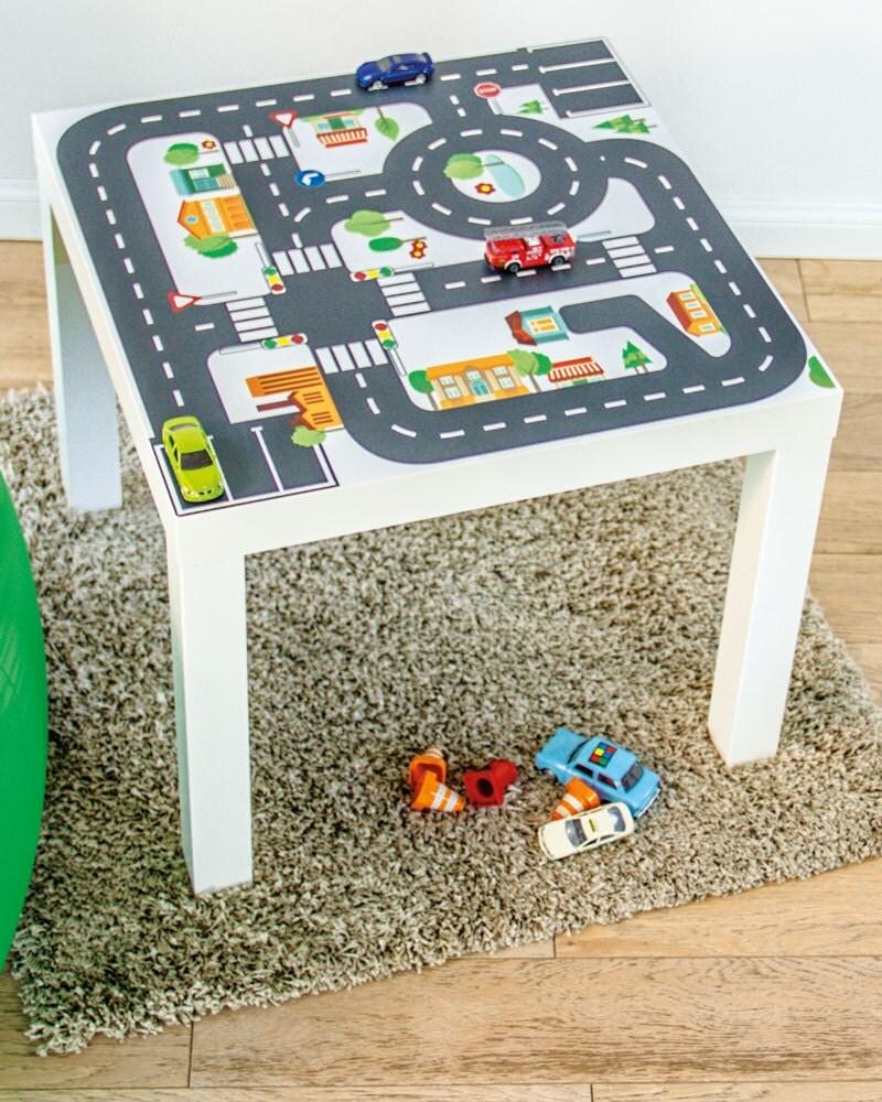 Kids Room Decor: Furniture Sticker Small City For