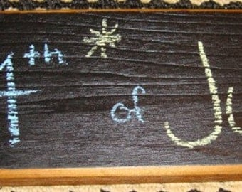 Chalkboard Camping Sign for Kids Camper Sign