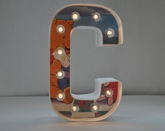 """Storybook Marquee Letter """"C"""" / Winnie the Pooh Marquee Letter"""