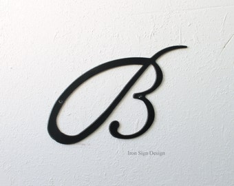 medium letter blank monogram metal letters for your home metal art wall hanging metal sign design your own sign with metal letters