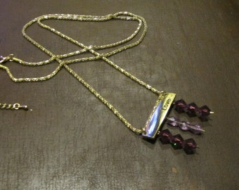 Purple Love Necklace