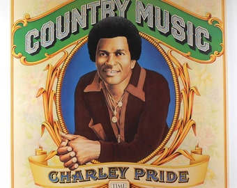 Charley Pride Country Music Time Life Records Vintage Vinyl LP