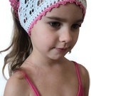 Openwork scarf for girls knitted scarf bandana sun protection for your child homemade crochet kerchief