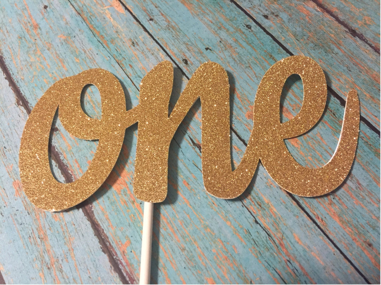 One Cake Topper Font