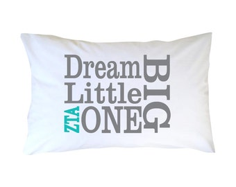 Zeta Tau Alpha Little Sister Pillowcase