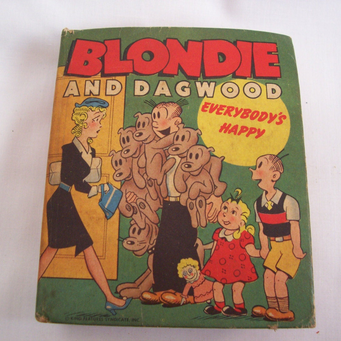 Vintage 1948 Big Little Book Blondie and Dagwood in