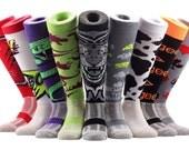 Samson® Funky Socks Knee High Sport Football Rugby Soccer