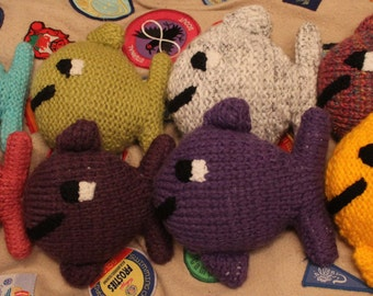 Colourful Knitted Fish