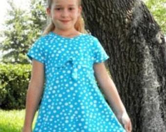 How to Sew the (CHILD) Empire Waist 2 piece Swim Dress with FREE Video Tutorial