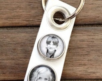 Custom Personalized Photo Keychain, Noosa Style Photo Chunk, Custom Personalized Gift, Photo Jewelry, Christmas gift, Christmas gift idea