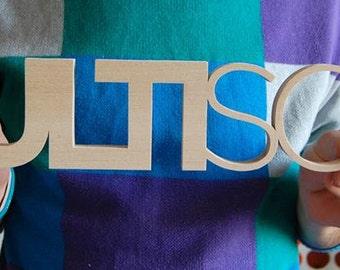 Large Size Logo Sign / Custom Wooden Logo / Your Blog Name Logo / Business Identity / FREE DESIGN DEVELOPMENT