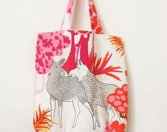 Summer Beach Bag, everyday Canvas Tote