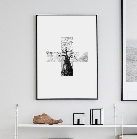 019 cross l mina imprimible para descargar descarga for Laminas para cuadros estilo nordico