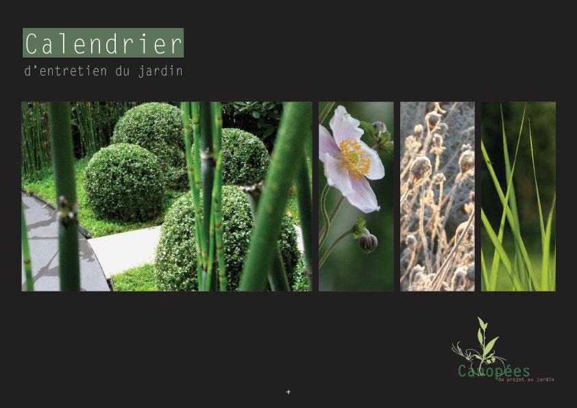 Calendrier perp tuel d 39 entretien du jardin for Calendrier entretien jardin