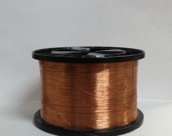 copper wire - 36 gauge copper wire - bare copper - 500 ft. spool