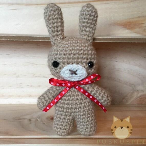 Etsy Amigurumi Bunny : Amigurumi Bunny by Puskuspin on Etsy