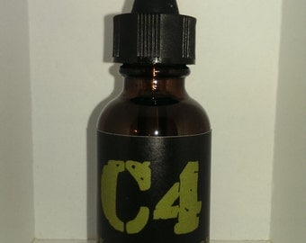 C4 Nitroglycerin Beard Oil