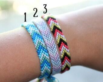 Classic arrow friendship bracelets