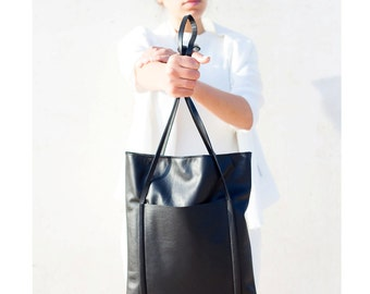 Tote leather bag - NETA BAG