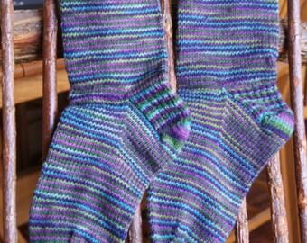 Wool Striped Socks