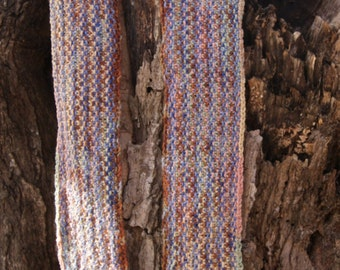 Cotton Hand Knit Scarf
