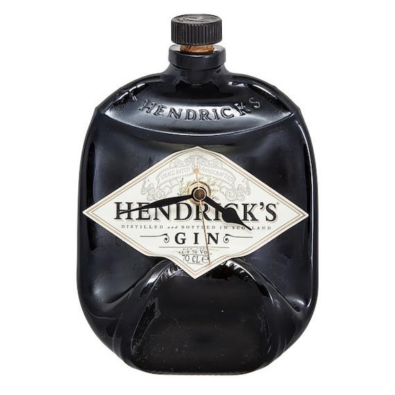 Hendrick's Gin bottle clock