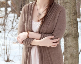 Seraphim Cardigan - Knitting Pattern PDF
