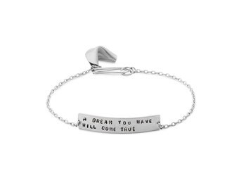 a dream you have will come true - fortune cookie bracelet