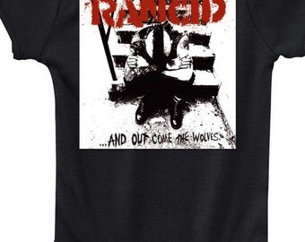 Rancid Wolves punk T-Shirt or onesie