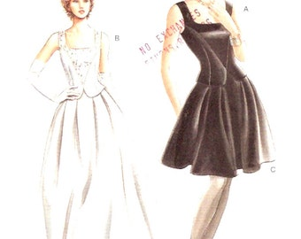 Brides top skirt or cocktail outfit evening wear Sewing Pattern Vogue 9246 Sz 12 to 16 UNCUT Wedding outfit