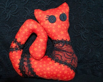 Orange Laced Kitty