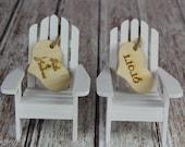 Adirondack Chair Cake Topper, Adirondack Chair, Adirondack Wedding, Cake Topper