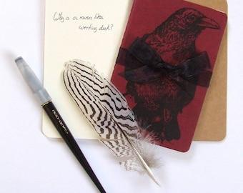 Red Raven Moleskine Notebook