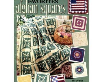 Contest Favorites Afghan Squares - 30 Squares from Crochet With Heart Contest - Crochet Pattern - Leisure Arts