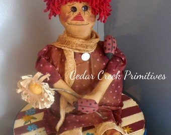 Primitive Raggedy Doll