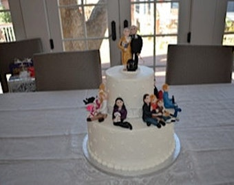 Custom Family  Cake Topper