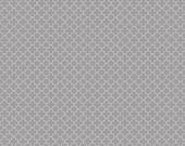 30% OFF Riley Blake Mini Quatrefoil Gray - 1/2 Yard