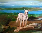 Make a Wish - Camargue, France - Original Painting - 11 x 14