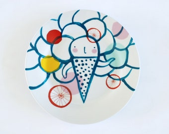 Icecream plate