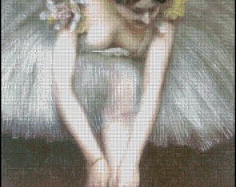 BEFORE THE BALLET cross stitch pattern No.439