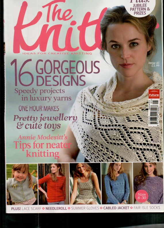The Knitter Knitting Magazine Issue 45 May 2012