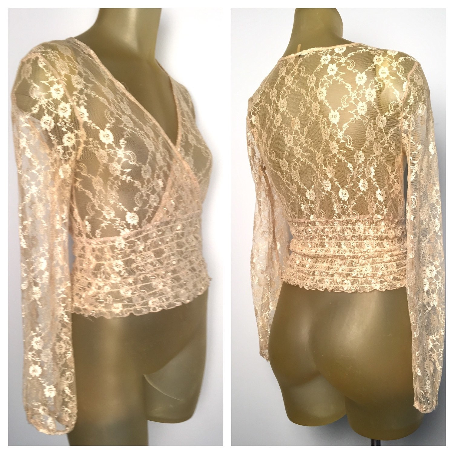 Gold Blouse Top 34