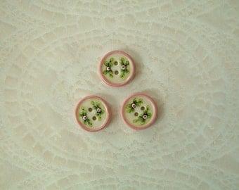 Soft Pink Round set of 3