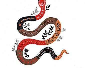 Snake Giclee Print