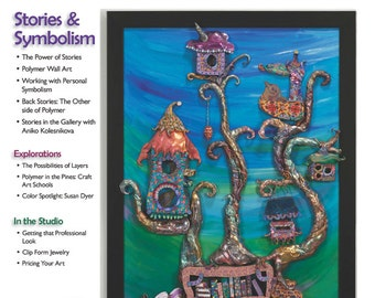 The Polymer Arts Spring 2013--Stories & Symbolism  Vol.3, No.1